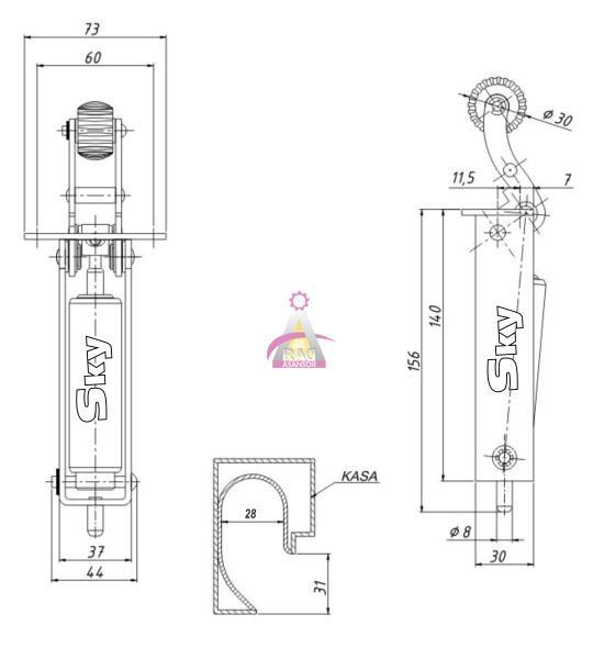 مشخصات دیکتاتور (آرام بند) اسکای SKY