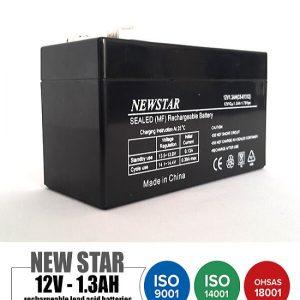 باتری 12 ولت 1.3 امپرNEWSTAR
