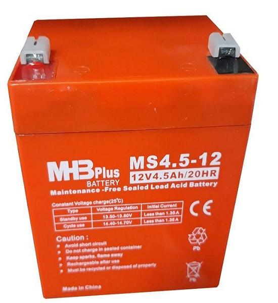 باتری 12 ولت 4.5 آمپر MHBplus